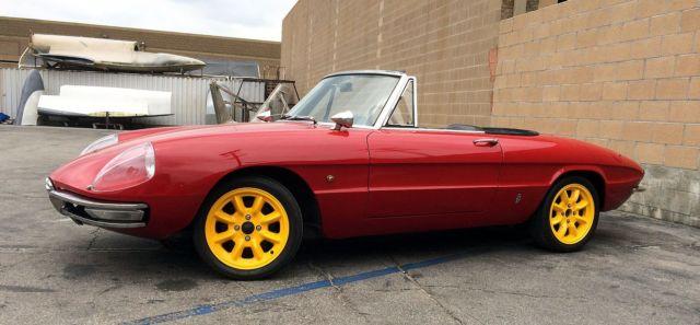 Alfa Romeo Duetto Spider Door Upgrade Restored - 1967 alfa romeo duetto spider for sale