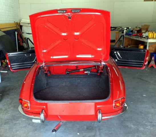 1967 Alfa Romeo Duetto 1600 Spider 2-Door 1750 Upgrade