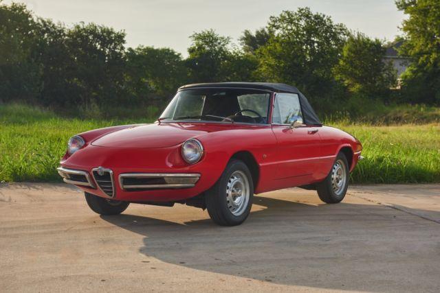 1967 Alfa Romeo Spider Duetto 1600 For Sale Classic ...