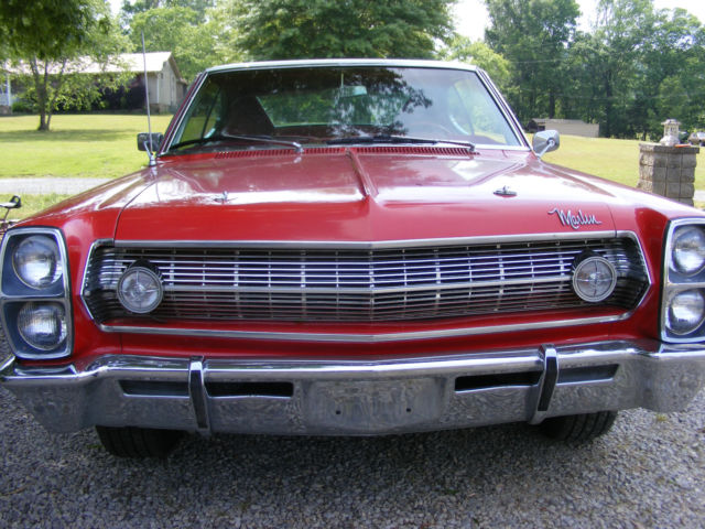 1967 American Motors Marlin Base 5 6l For Sale  Photos