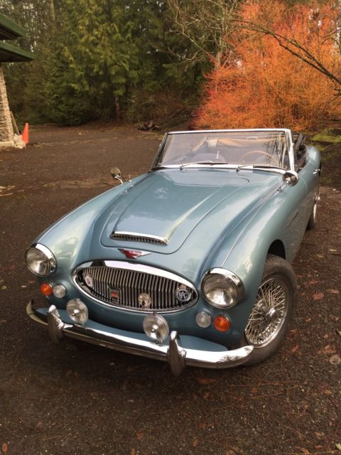 1966 Austin Healey 3000 BJ8 Mark III