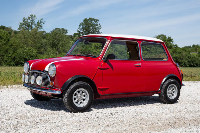 1967 Austin Mini Cooper Supercharged