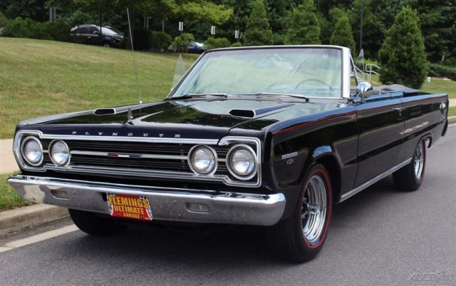 1967 Plymouth GTX Authenticated by Galen Govier Super-Rare with 28k