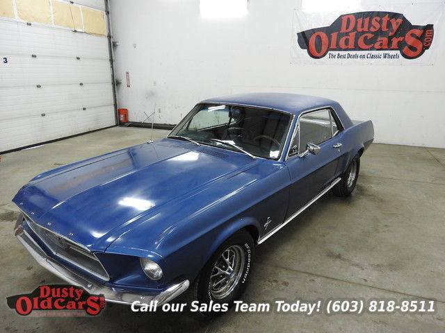 1967 Ford Mustang Runs Drives Body Int VGood 289V8 3sp Auto