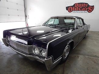 1967 Lincoln Continental RunsDrivesNiceBodyInteriorVGoodBagsCompressor