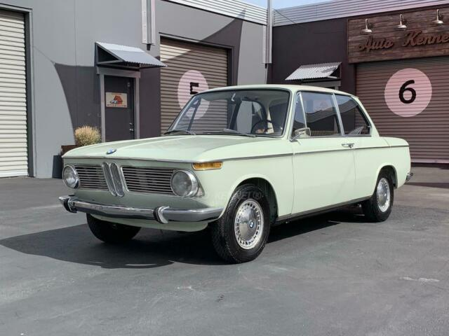 1967 Bmw 1600 Orig Miles Florida Green Very Early Complete Fresh Mechanicals For Sale Photos Technical Specifications Description