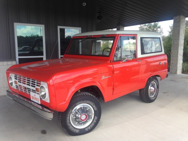 1967 Ford Bronco Base