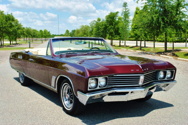 1967 Buick Skylark Convertible Stunning Mostly Original Classic