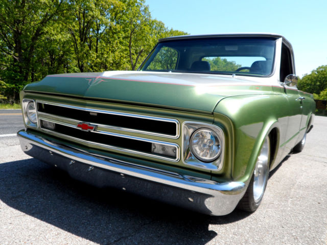 1967 Chevrolet C-10 SHORTBED C-10 WITH AIR RIDE, DISC BRAKES AND PS