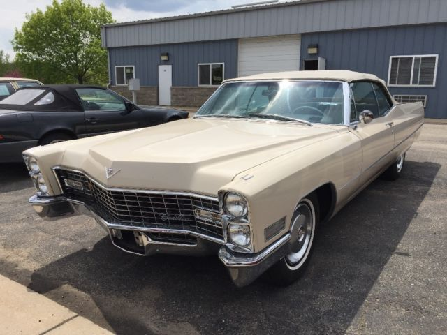 1967 cadillac convertible 50k miles for sale photos technical. Black Bedroom Furniture Sets. Home Design Ideas