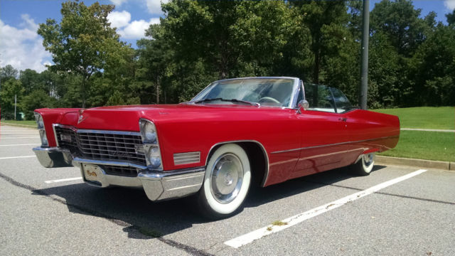 1967 cadillac deville convertible 429 automatic very solid for 429 cadillac motor for sale