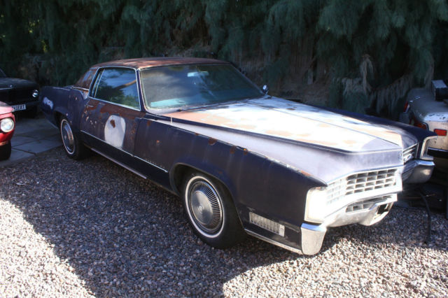 1967 cadillac eldorado 429 bb v8 resto project for sale. Black Bedroom Furniture Sets. Home Design Ideas