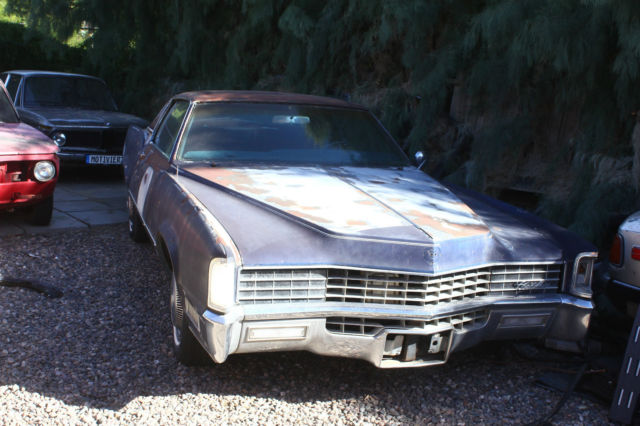 1967 cadillac eldorado 429 bb v8 resto project for sale photos technical specifications. Black Bedroom Furniture Sets. Home Design Ideas