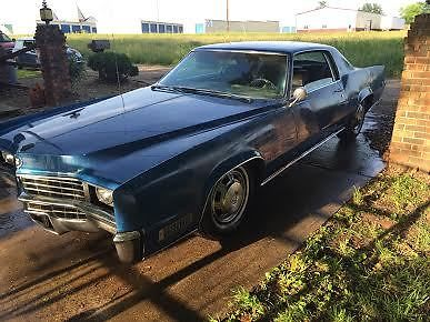 1967 cadillac eldorado project car 429 v8 pw ps pb cruise. Black Bedroom Furniture Sets. Home Design Ideas