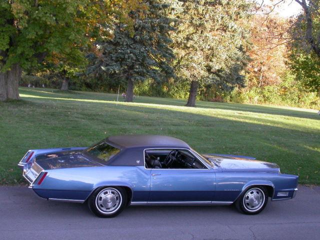 1967 Cadillac Eldorado With Heated Seats Most Rare 67 Eldorado