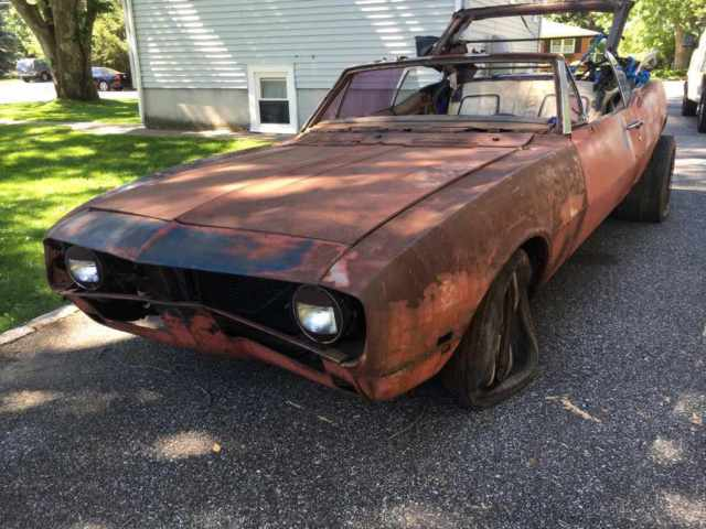 1967 Camaro Convertible 327 Auto Project for sale: photos, technical ...