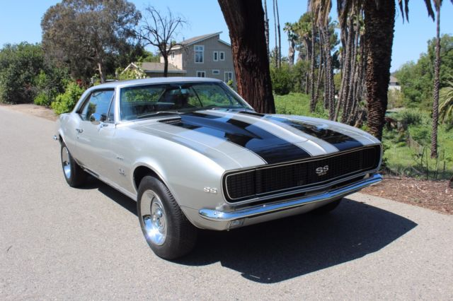 1967 camaro rs ss 396 cortez silver cali car deluxe int 1968 1969 for sale photos technical. Black Bedroom Furniture Sets. Home Design Ideas