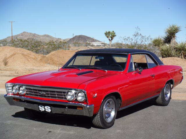 1967 Chevelle Real Ss 138 Vin 396 4 Speed 12 Bolt
