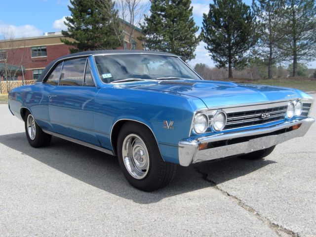 1967 Chevelle SS 396 4 speed Frame Off for sale: photos