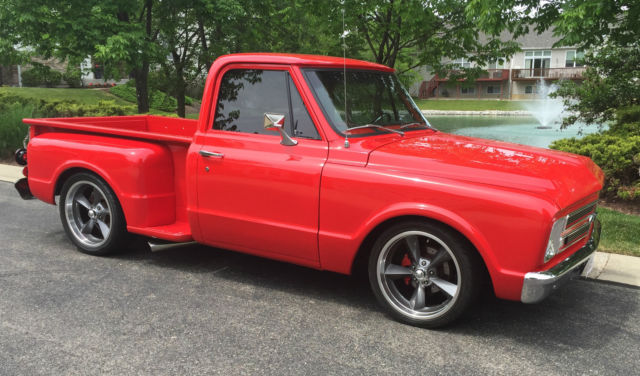 1967 Chevrolet C10 Stepside Pickup For Sale Photos