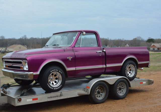 1967 Chevrolet C-10 SWB FLEETSIDE W/RARE BIG BACK WINDOW