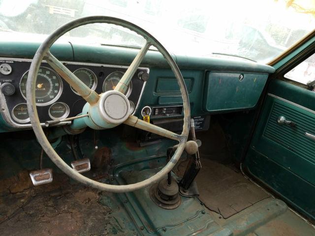 1967 CHEVROLET C50 FUEL TANKER PATINA SHOP TRUCK CAR HAULER