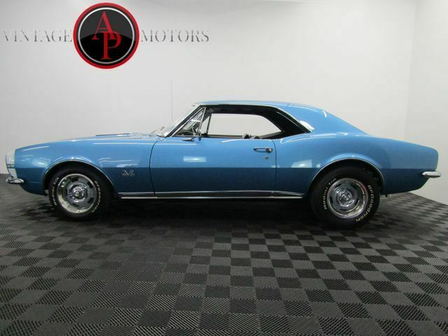 1967 Blue Chevrolet Camaro 427 FRAME OFF V8 4SPD -- with Black interior
