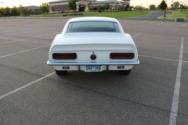 1967 White Chevrolet Camaro Coupe with Black interior