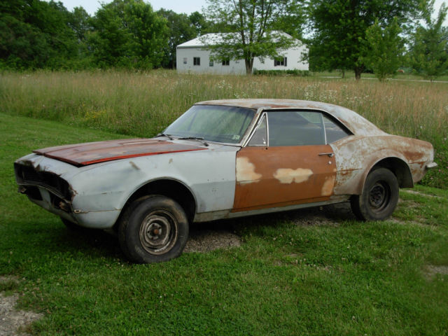 1967 chevrolet camaro rs ss 350 project for sale photos technical specifications description. Black Bedroom Furniture Sets. Home Design Ideas