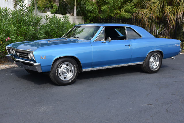 1967 Chevrolet Chevelle 396SS 4 Speed PS PB