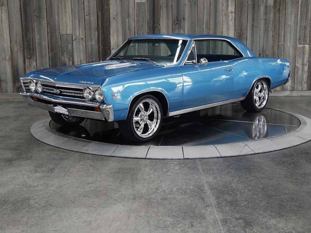 1967 Chevrolet Chevelle 138 SS 396 #'s Match 4Spd. Frame Off Restored
