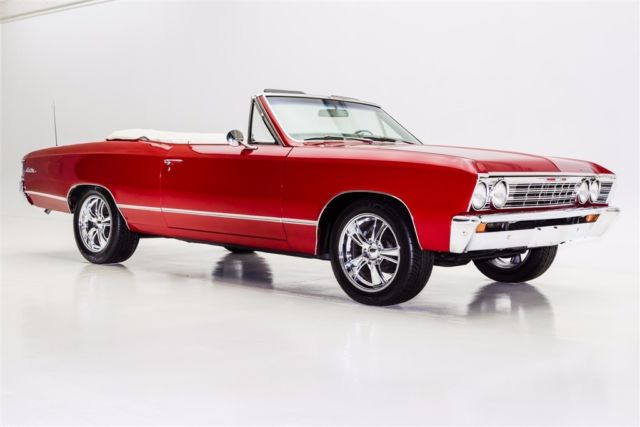 1967 Chevrolet Chevelle Convertible, Auto, PS, PB