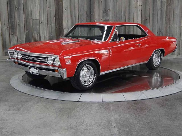 1967 Chevrolet Chevelle 396 Auto AC Frame Off Restored New Everything
