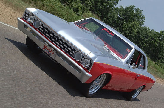 1967 Chevrolet Chevelle Year One Project Car Drag Tour Sema