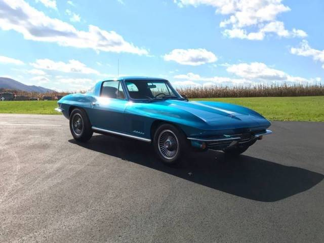 1967 Chevrolet Corvette Blue/Black*FrameOnResto*#sMatch327/350hp*L79