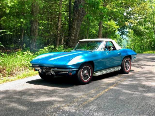 1967 Chevrolet Corvette L79*327/350hp*4spd*HeadrestSeats*BoltOns*SidePipes