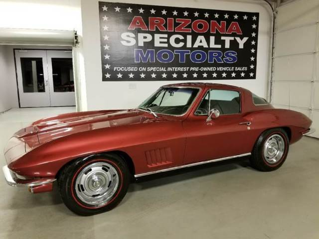 1967 Chevrolet Corvette COUPE Sting Ray FACTORY A/C NO RUST! CLEAN
