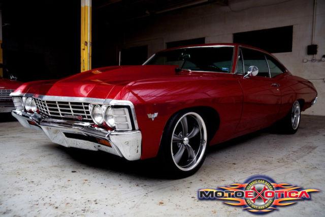 1967 Chevrolet Impala 454 Big Block 4 Speed 4 Wheel Disc Brakes