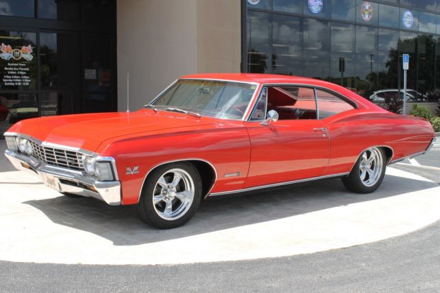1967 Chevrolet Impala Ss S Matching 396ci Protect O Plate And