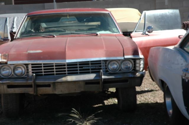1967 Chevrolet Impala SS Project Car for sale: photos, technical