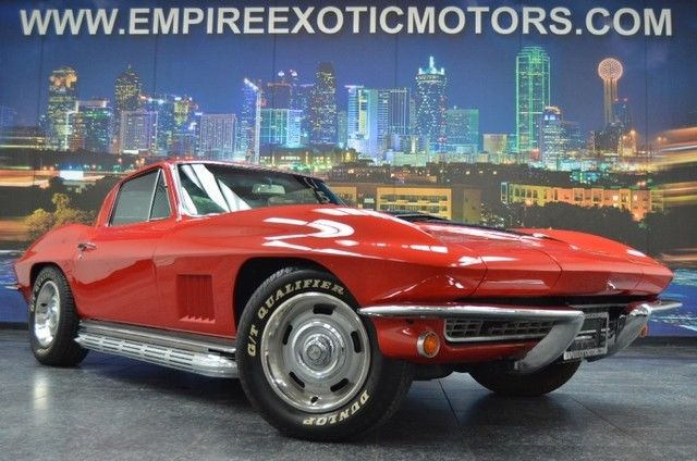 1967 Chevrolet Corvette Stingray World Products Crate 5 Spd Manual