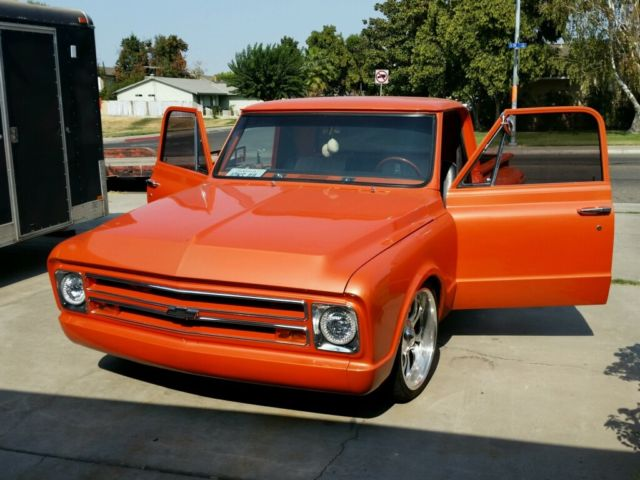 1967 Chevy C10 Stepside for sale: photos, technical ...