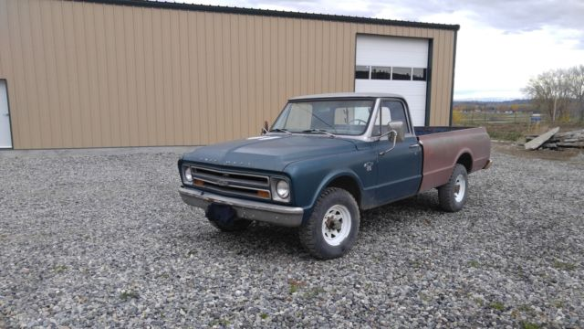 1967 Chevy C20 3 4 Ton 4x4 Truck For Sale Photos Technical