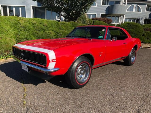 1967 Red Chevrolet Camaro Coupe with Black interior