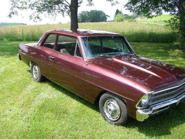 1967 chevy ii nova 2 door sedan v8 disc brakes project for sale photos technical. Black Bedroom Furniture Sets. Home Design Ideas