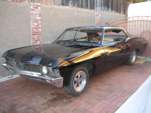 1967 chevy impala 4 door hardtop supernatural project car. Black Bedroom Furniture Sets. Home Design Ideas