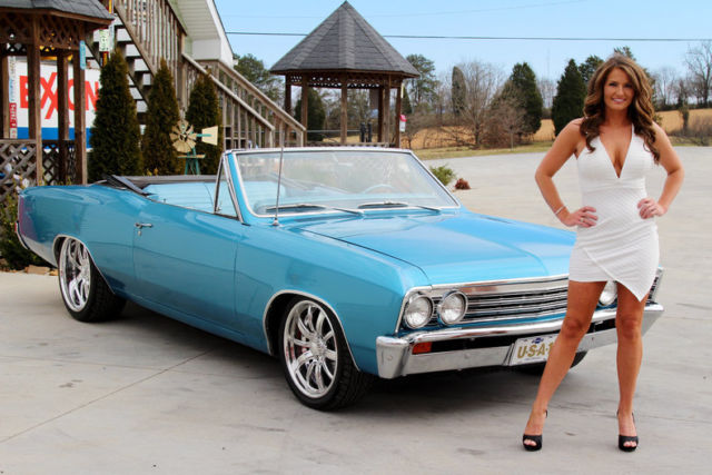 1967 Chevy Malibu Convertible 283 4 Speed Four Wheel Pdb