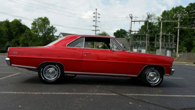 1967 Chevy Nova 500 hp 383 4 speed for sale: photos, technical