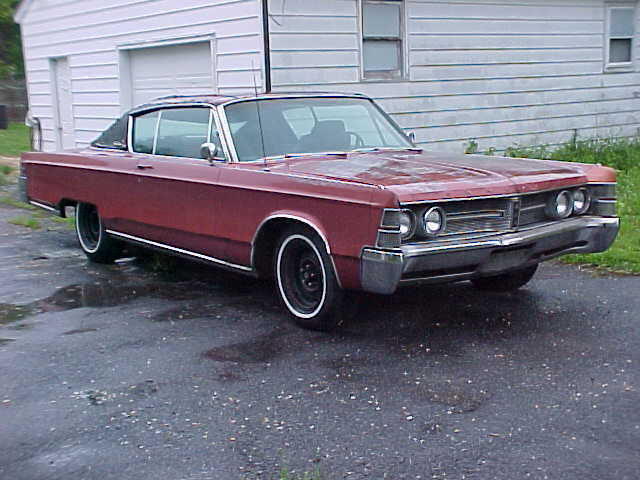 1967 Chrysler New Yorker Coupe Engine and Transmission Good