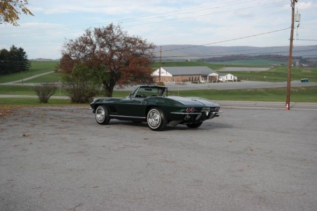 1967 Chevrolet Corvette Frame Off Restored #s matching 327ci/350hp 4-speed